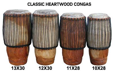 Classic-Heartwood-Conga-Row