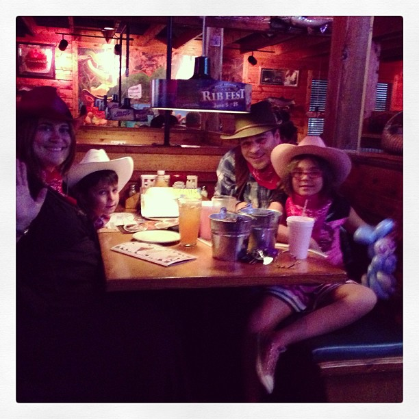 Annual Texas Roadhouse dinner...May 31, 2013
