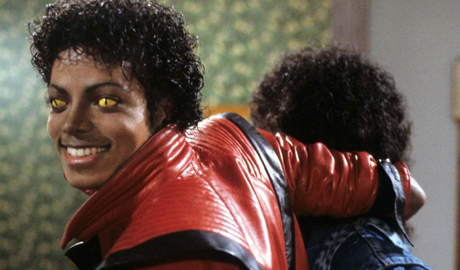 Michael-Jackson-Thriller-Yellow-Eyes