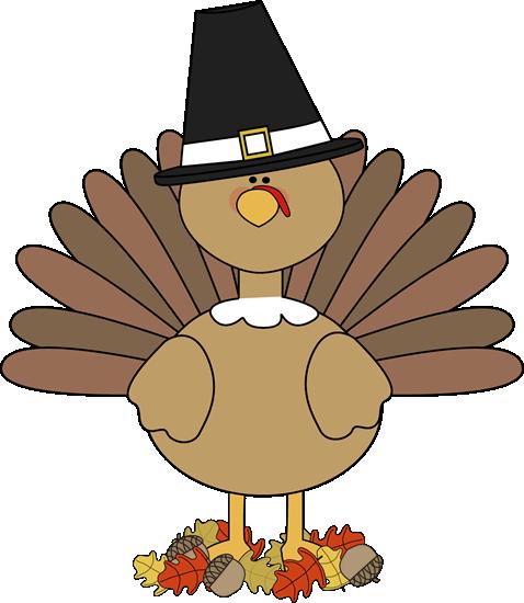 turkey-pilgirm-in-autumn-leaves