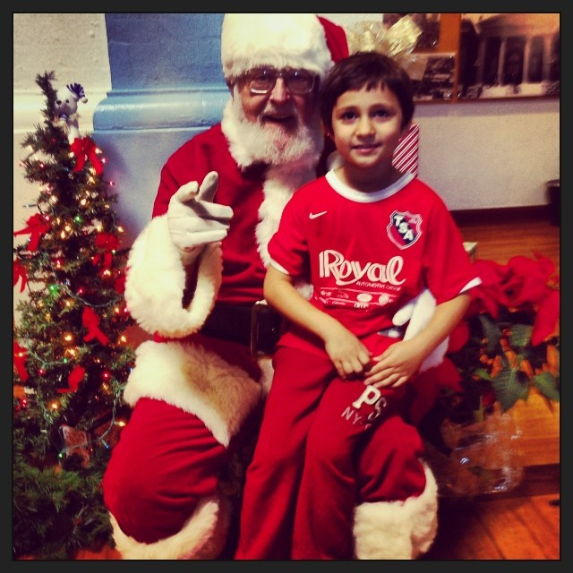 When Jewish kids tell Santa what they want for Christmas...