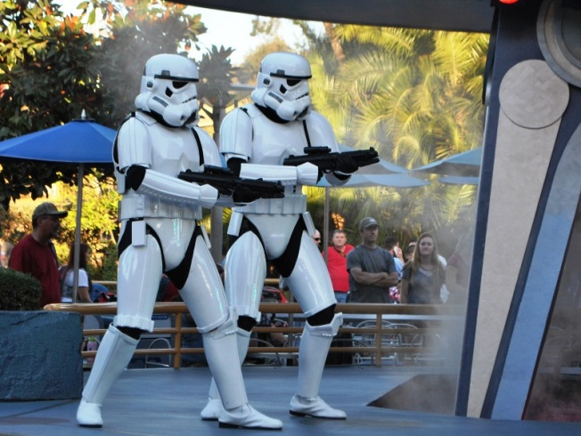 Here come the Storm Troopers
