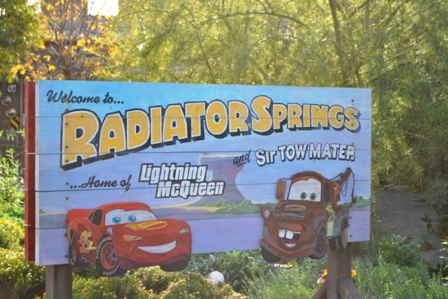 RadiatorSpringsSign