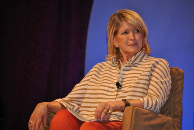 Here's Martha when she was the keynote speaker at the BlogHer 2012 conference that I attended in NYC.
