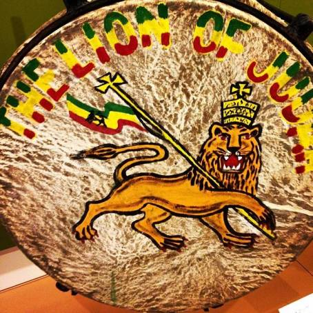 Lion of Judah Drum from Jamaica