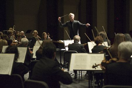 The Tucson Symphony Orchestra with George Hanson conducting:  www.tucsonsymphony.org