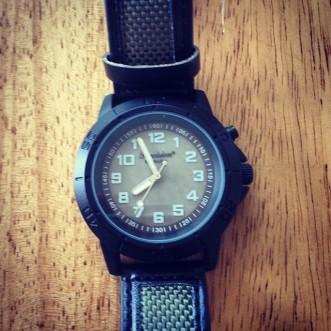 My son's very first ever watch