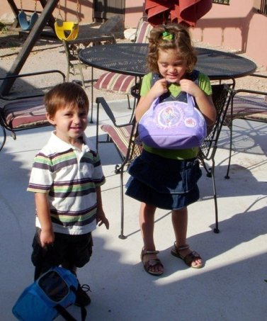1st Day of Preschool - Ages 2 & 4