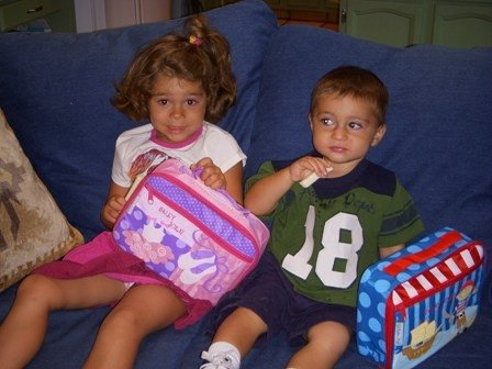 1st day of preschool - Ages 18 months & 3