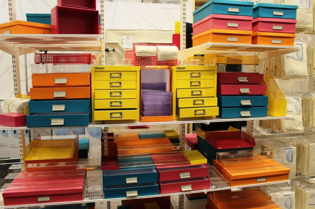 Little boxes in every shape, color and size at The Container Store!