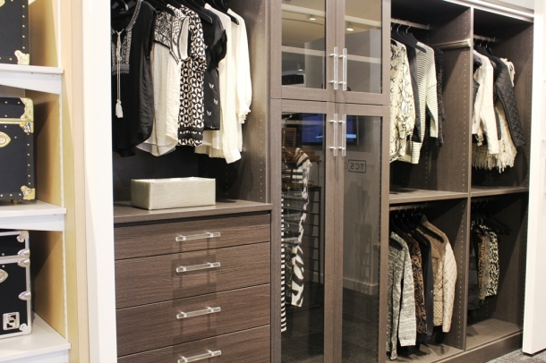 The Container Store also provides a service where it can be arranged to have an at-home consultation to custom design a closet or other space